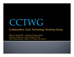 CCTWG Open House presentation